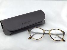 Giorgio Armani AR 7028 5178 Havana Round Typewriter Eyeglasses 48-22 140 Italy