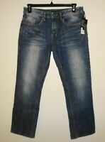 Buffalo David Bitton Mens Jeans SIX-X Basic Slim Straight Stretch 36x32 NWT