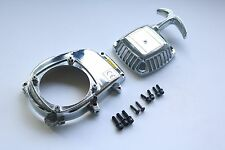 Chrome Engine Cover Kit for CY Zenoah HPI Baja 5B 5SC King Motor Rovan
