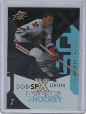 2010-11 SPx Legends of Hockey #103 Phil Esposito 510/999