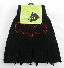 COPPIA di Black BAT Design Guanti Senza Dita-BATMAN/Goth-Nuovo con Scatola