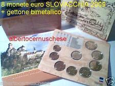 2009 8 monete euro SLOVACCHIA Slovaquie Slovakia Orava
