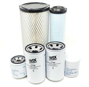 CFKIT Maintenance Filter Kit for/Kubota M6800 M7040 Series w/V3300-E Eng.