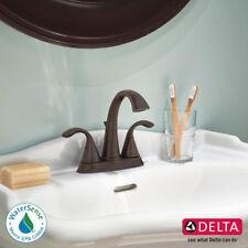 Delta Faucet Zella 2-Handle Bath Faucet Bathroom Sink, Venetian Bronze