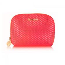 Benefit Cosmetics Red Wink Makeup Bag, NEW