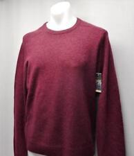 Mens XL Original Penguin P55 long sleeve Lambs wool amaranth sweater