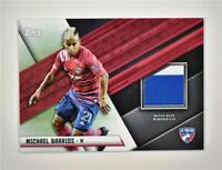 2021 MLS Jersey Relics Base #JR-MB Michael Barrios - FC Dallas