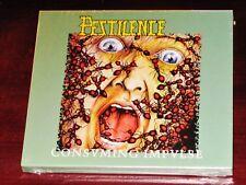 Pestilence: Consuming Impulse Juego de 2 CD 2017 Hammerheart Records HHR 2017-14