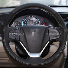Black Hot Steering Wheel Cover Customed fits Honda CRV CR-V SUV 2012-2016