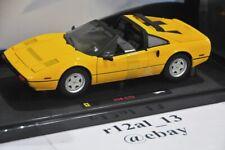 Hot Wheels Elite 1:18 Ferrari 308 GTS Yellow P9898