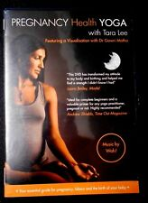 PREGNANCY HEALTH YOGA  with TARA LEE - PREGNANCY/LABOUR/BIRTH,  VGC R4 Aust DVD