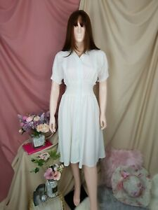 cherrie424: NWT Maternity/Nursing Mom White Dress