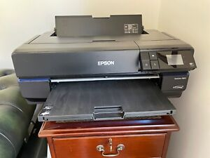 Epson SureColor SC-P800 large format printer with roll paper holder