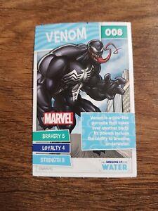 Venom Sainsbury's Disney Card 008 2021