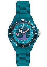 s.Oliver Quarz - (Batterie) Armbanduhren aus Silikon/Gummi für Damen