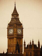 CULTURAL LANDSCAPE WESTMINSTER PALACE BIG BEN PARLIAMENT TOWER POSTER ART BB835A