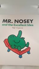Large Size Mister Men Book MR NOSEY and the Excellent Idea