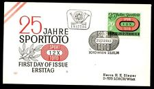 Austria 1974 Football Pools FDC #C7726