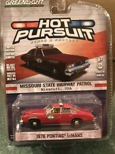 Greenlight  Hot Pursuit 1976 Pontiac Lemans Missouri State Highway Patrol