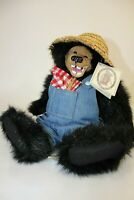 "Kimbearly's Originals A&A Plush Bear S/NO: IE/1400  ""Bubba"" By Kimberly Hunt NEW"