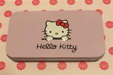 Hello Kitty 7pcs Mini Brush Kit: Powder Foundation Eyeshadow Eyeliner Lip
