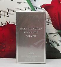 Romance Silver EDT Spray 3.4 Oz. By Ralph Lauren. NIB