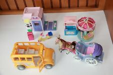 Sweet Streets Accessories ~ Bus Carousel Carriage & Post Office