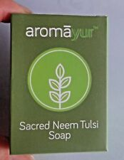 SACRED NEEM TULSI SOAP SHEA BUTTER COCONUT OIL ALOE VERA AROMA FRAGRANCE