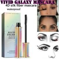 4D Vivid Galaxy Mascara Silk Fiber Lashes Thick Lengthening Waterproof Mascara
