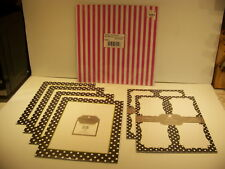 PERFECTLY POSH POLKA DOT POSTCARDS, LETTER HEAD, CANDY STRIPE PAPER
