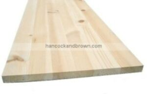 Craftsman's Pine Laminated Pine Board 1200 x 300 x 18mm Shelving Desks Furniture