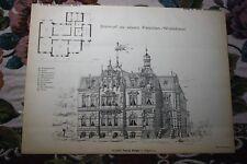 1887 11 / Entwurf Architekt Georg Berger Magdeburg