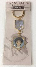 Neon Genesis Evangelion EVA keychain key chain ring movic Ikari Shinji anime