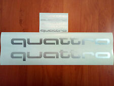 quattro AUDI SRT Car Racing Sport Die Cut Decals Sticker Vinyl Emblem Logo 010
