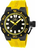 New Invicta 16138 Master Of The Ocean Summer Yellow Sport Watch