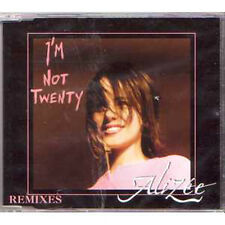 MAXI CD ALIZEE I'm not twenty remixes 4-track jewel case  + RARE