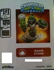 Doom Stone Skylanders Swap Force Sticker/Code Only!