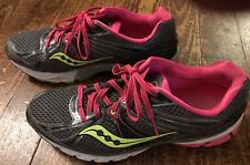 Saucony Progrid Guide 6 Women's 12 Gray Pink Running Shoe Athletic Sneakers