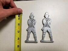 "Vintage Wilton 4"" Pewter Soldier Bottle Opener Lot of 2, Collectible"