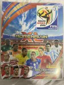 PANINI ADRENALYN XL WORLD CUP 2010 BINDER + ALL 250 BASE SET UK EDITION