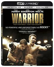WARRIOR (Tom Hardy)  (4K ULTRA HD) - Blu Ray -  Region free