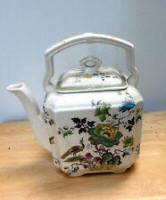 "Masons Ironstone ""Formosa"" Teapot - Never used - Purely ornamental"