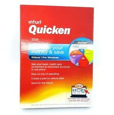 Quicken Deluxe 2016 Personal Finance Software Windows PC - NEW™