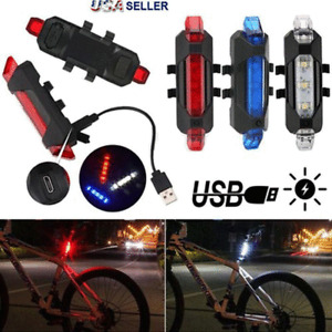 5 Colors GUEE Tadpole Bike Cycling RED LED Safety Light Tail Lights Rear Lights