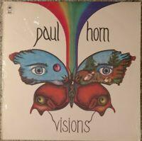 "PAUL HORN ""Visions""  1974 Promo LP   Shrink wrap"