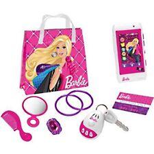 coffret Barbie  sac telephone peigne miroir bijoux porte cles bruiteur