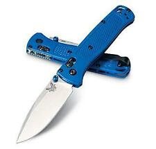 Benchmade 535 Bugout, 3.24 in Blade, Blue Grivory Handle
