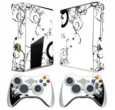 Flower Tree 035 Vinyl Decal Skin Sticker for Xbox360 slim and 2 controller skins
