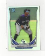 2014 Bowman Chrome Top 5 Mini Refractors #BMCRO4 Rosell Herrera Rockies