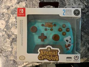 Nintendo Switch ANIMAL CROSSING Slider Power A Enhanced Wireless Controller